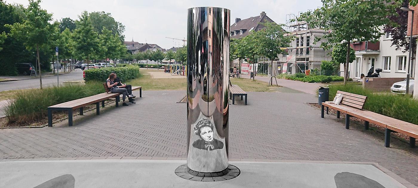 Jeanette Wolff Skulptur, Dinslaken | err.2018 © Steffi Schöne